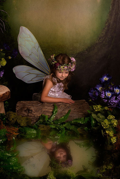 Bradford Child photography session for fairies