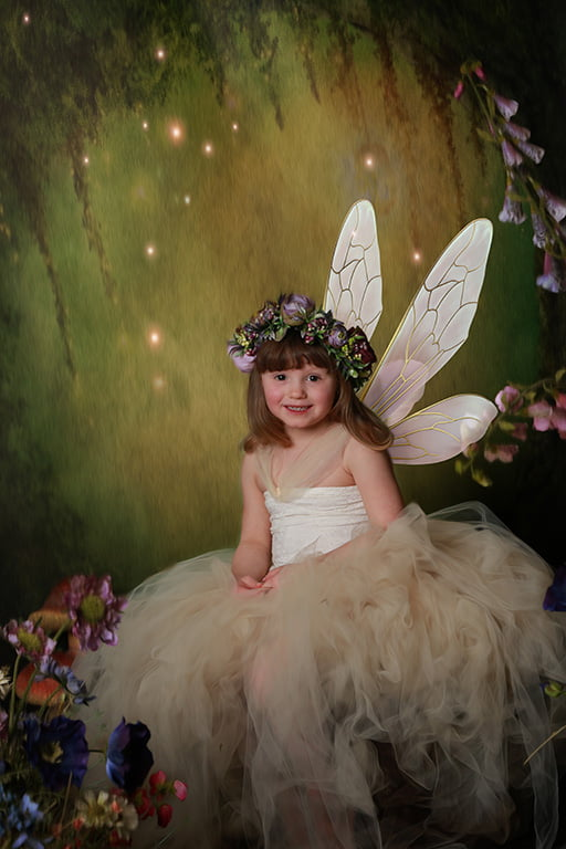 enchanted forest child photography