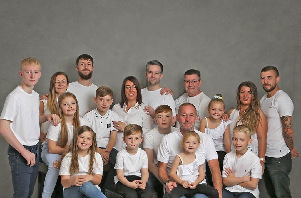 Large Family Photoshoot