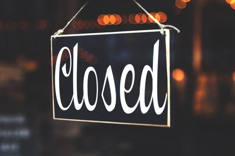 Coronavirus  – The Studio is temporarily closing
