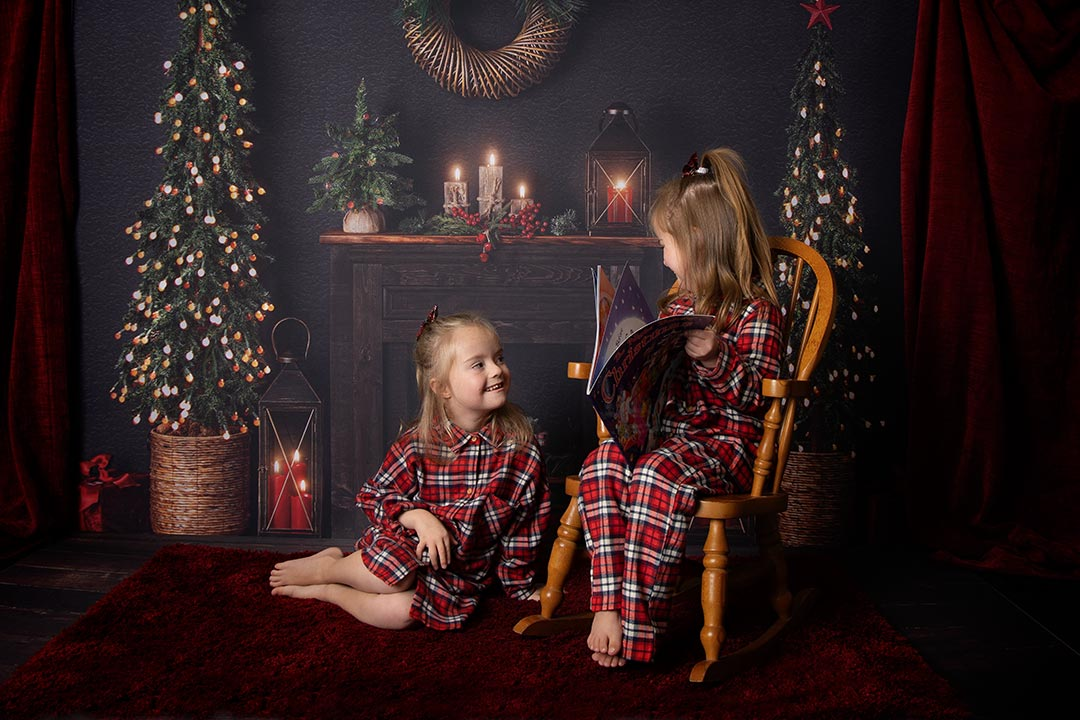 little girls christmas pictures