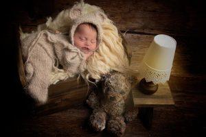 teddy bears in l Newborn photography Leeds