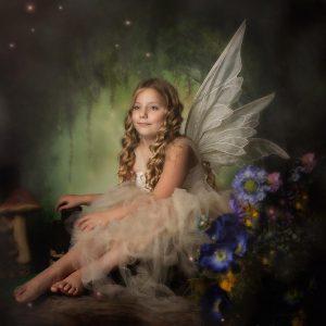 Fairies in Bradford photographic studio