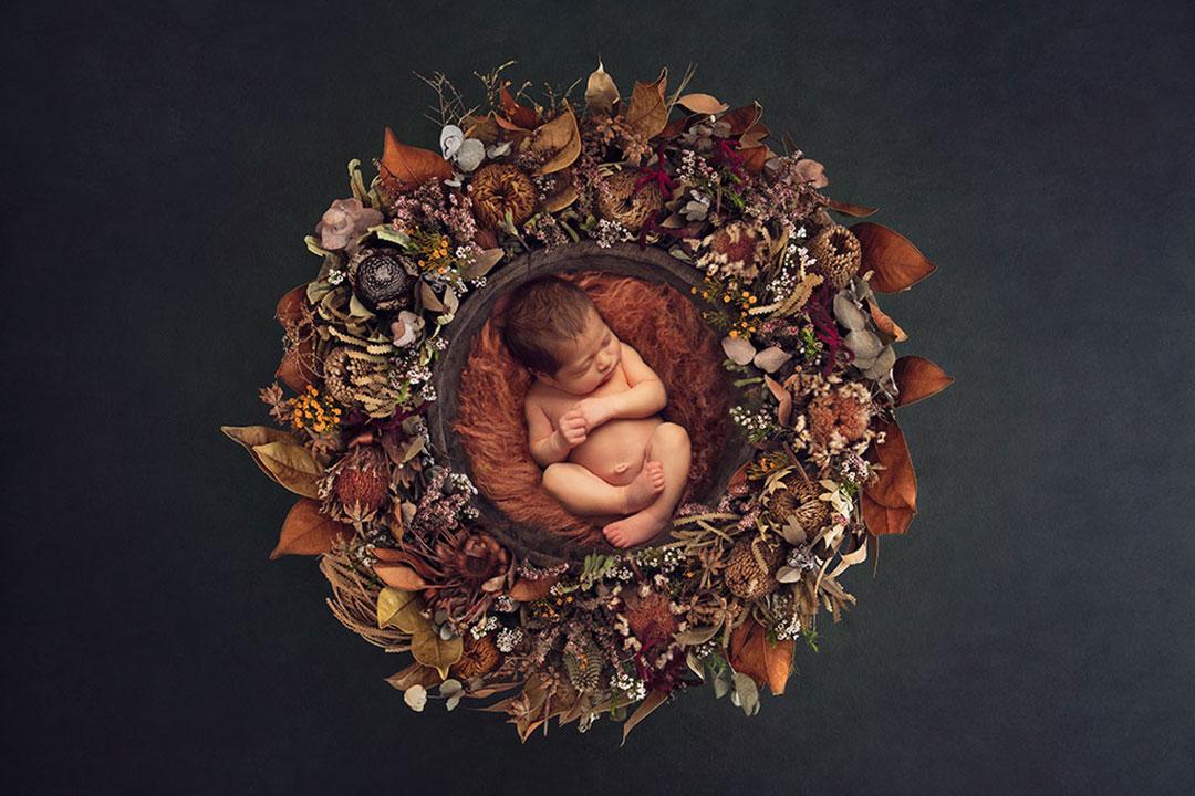 baby in composite Leeds Studio